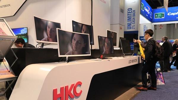 彰显品牌实力 HKC经典之作点亮CES现场