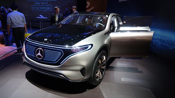 奔驰亮相CES 发布纯电动SUV/概念物流车