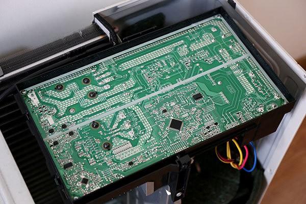 输入抗阻                     电路部分,松下cu-he13kh1空调采用大电