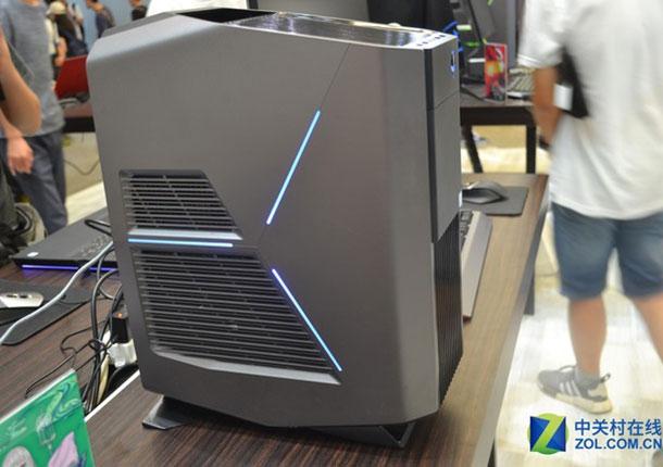 CJ现场产品速评之外星人展台Aurora R6
