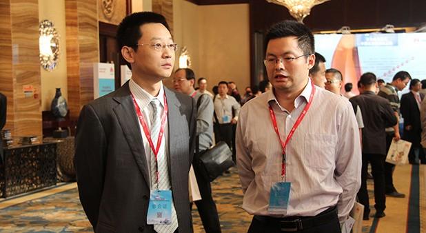 华为企业业务中国区总裁马悦先生亲临展台