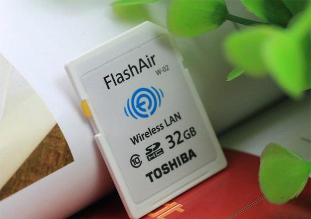 东芝Flashair