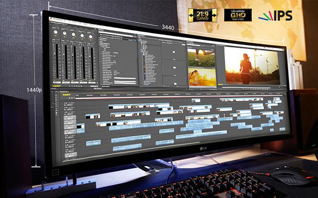 LG 21:9超宽屏显示器4