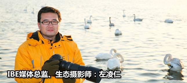 IBE媒体总监、生态摄影师左凌仁老师