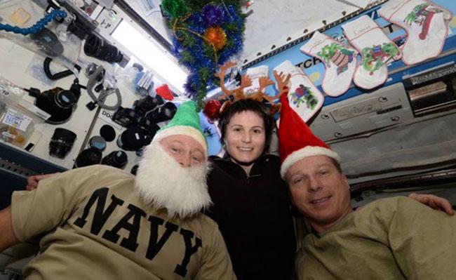 别样体验 看宇航员的太空圣诞节怎么过