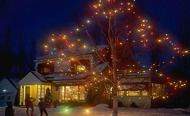 """用120万LED灯饰装扮""""圣诞仙境""""真豪气"""