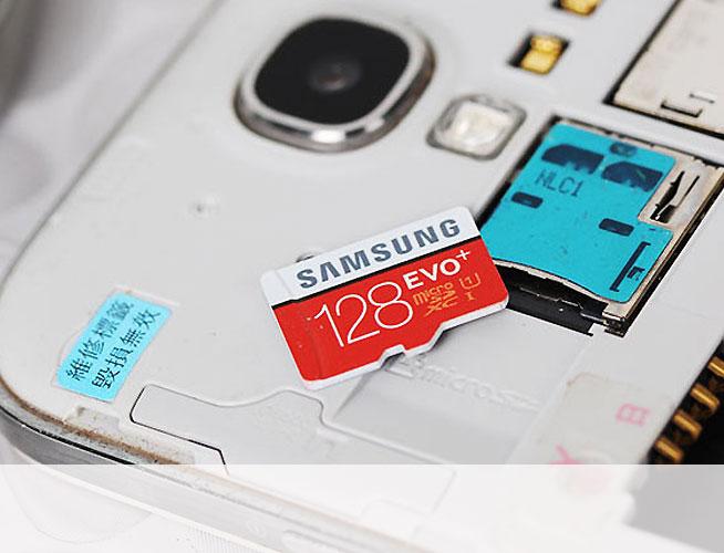 三星EVO+ 128G TF卡