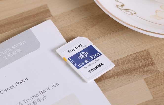 东芝FlashAir SDHC USHS-I存储卡评测