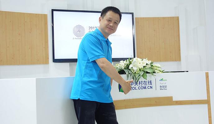 LIFAair张文东:超大容尘量新风一年不用换滤网