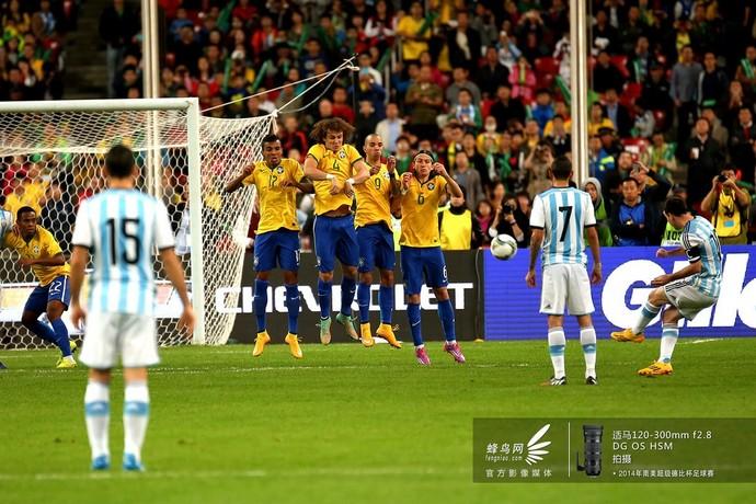 2014南美超级杯阿根廷队-定位球战术