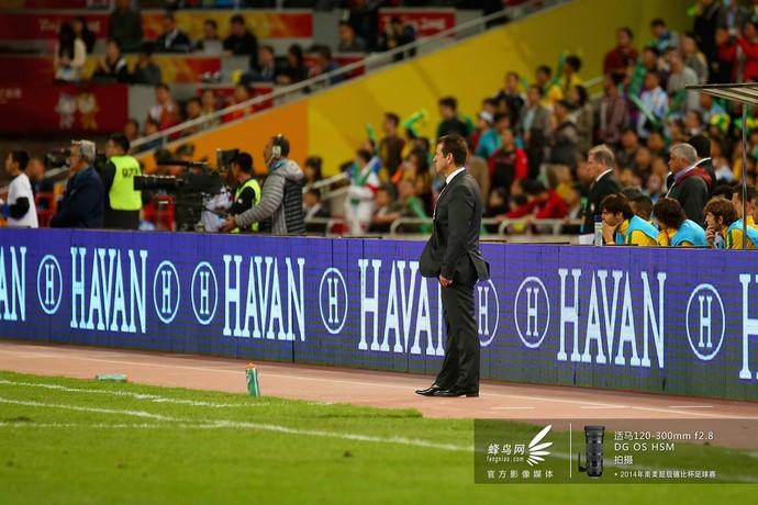 2014南美超级杯巴西队-教练邓加