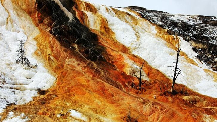 《 沉睡的火山 》— 黄石公园