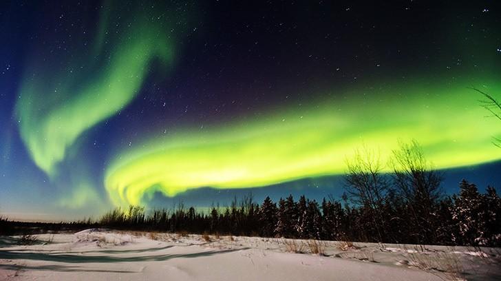 北极光--变换无限美妙的光幻