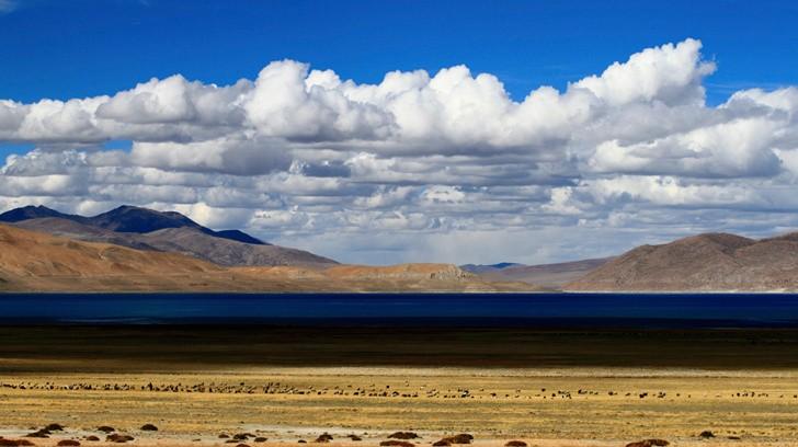 西藏情怀--秀美佩枯湖