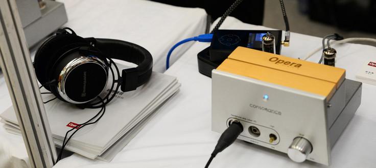 2015上海音响展 欧博展出多款播放器
