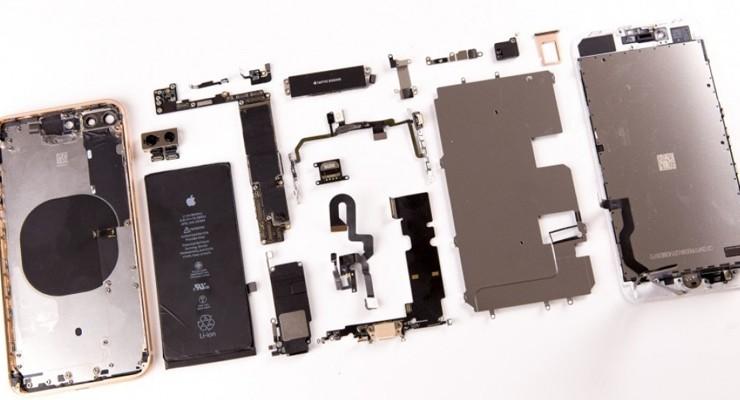 77颗螺丝的艺术 143图拆解iPhone8 Plus