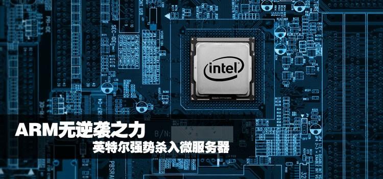 ARM无逆袭之力 英特尔强势杀入微服务器