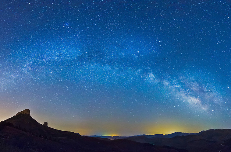 银河拱桥 拍摄地:七星台
