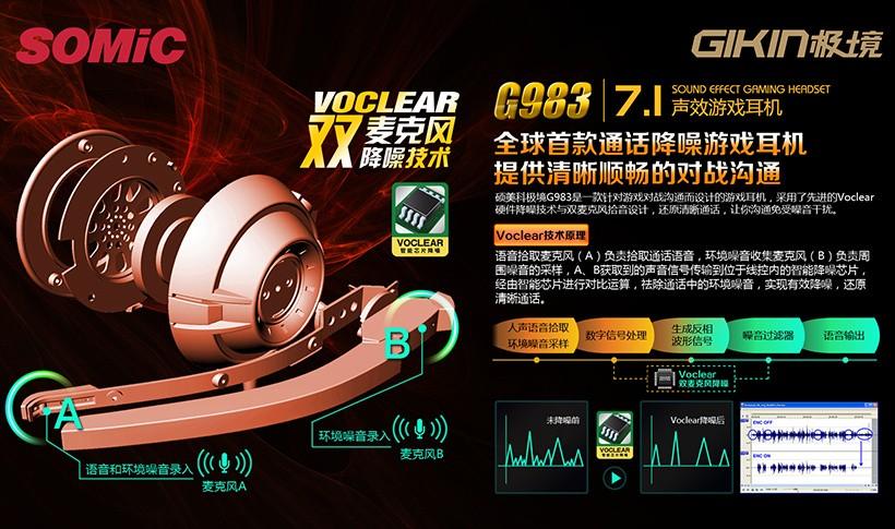 可接PS3和XBOX 测7.1声道降噪游戏耳机