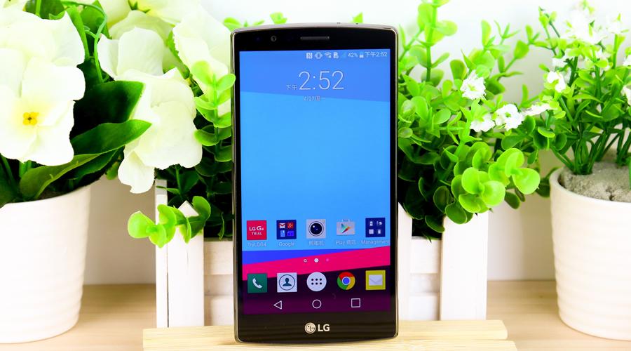 LG G4机身正面