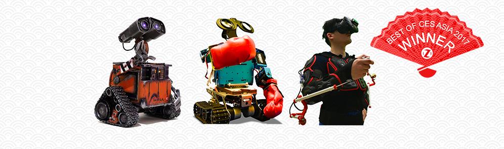 虚拟现实下机器人同步控制